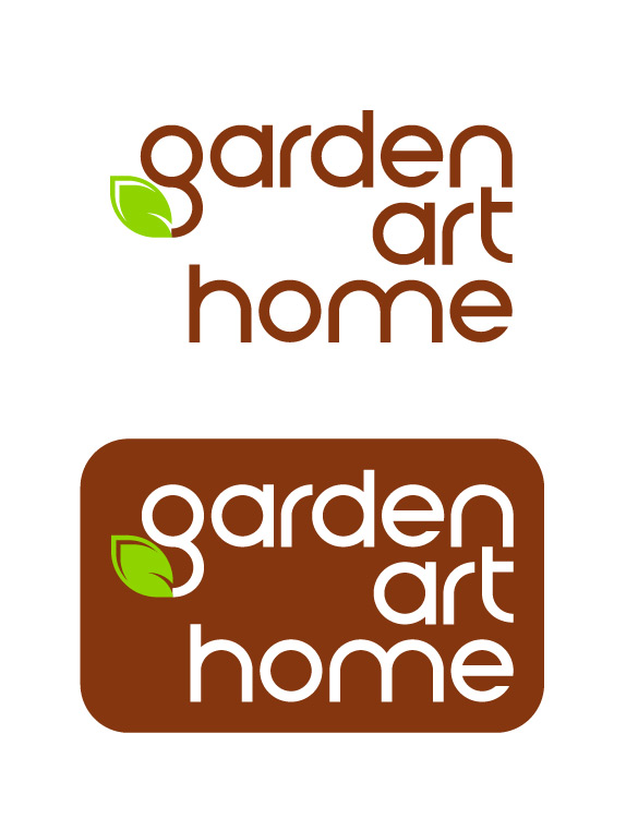 Kurumsal logomuz garden art home Homes and gardens logo
